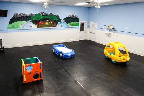 Daycare play room